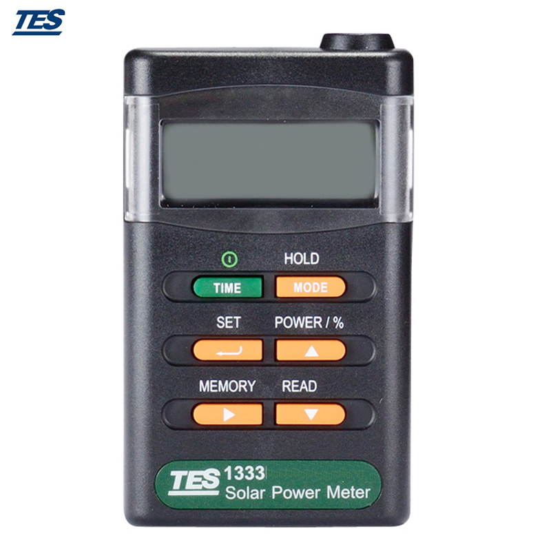 TES-1333 Digital Radiation Detector Solar Cell Energy Tester Solar Power Meter sm206 solar power meter for solar research