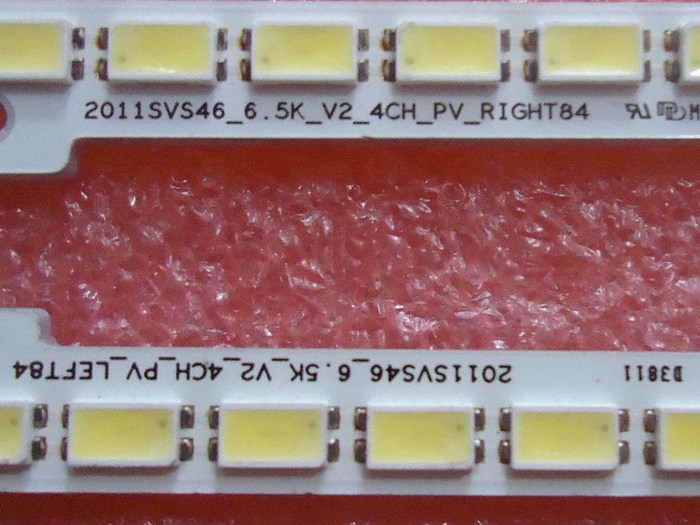 1-Для Samsung LTJ460HW04-B UA46D6400uJd Article lamp UA46D6400uJd/LEFT84 1 шт. = 84LED 571 мм смотреть на Алиэкспресс Иркутск в рублях