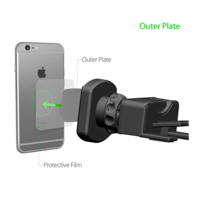 Car Mobile Phone Holder Stand Car CD Slot Air Vent Mount Smartphone Magnetic Stand Magnet Telephone Support Cellphone Acessories