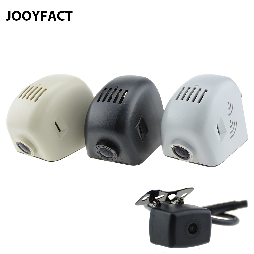 JOOYFACT A6 Car DVR Dash Cam Registrator Dual Lens 1080P Night Vision Novatek 96663 IMX323 WiFi For Audi Cars A3 A4 A5 A6 Q3 Q5