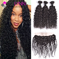 13x4 Lace Frontal Closure With Bundles Brazilian Water Wave,3 Bundles With Closure Brazilian Hair Weave Bundles With Closure