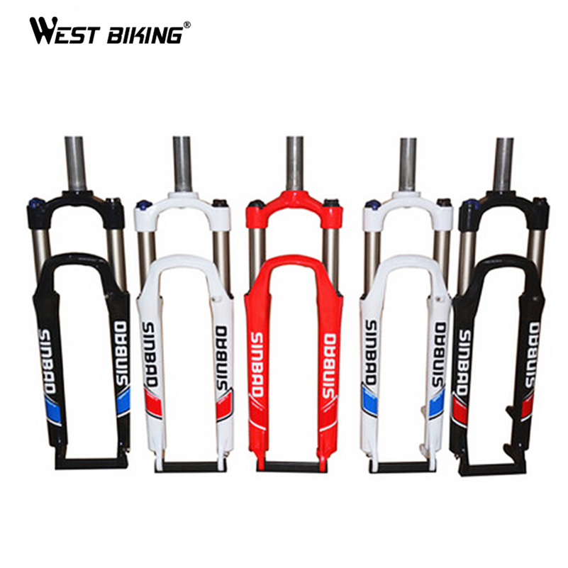 WEST BIKING Ultralight 26inch Mountain Bike Fork 28.6mm Diameter Bicycle Accessories Parts Bicicleta Ciclismo Cycling Bike Fork west biking aluminum alloy bicycle fork mountain bike front shock road bicycle fork carbon fiber cycling bike parts frame fork