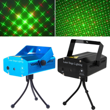 Best Buy TSLEEN LED Laser Pointer Light Stage Party Pattern DJ Disco KTV Lights Decorations for Home Christmas Laser Projector US EU Plug