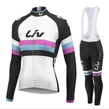 2016 Cycling jerseys Woman MTB Wear LIV Jerseys bike Cycling clothing/long sleeve Bicycle Wear Bike Clothing