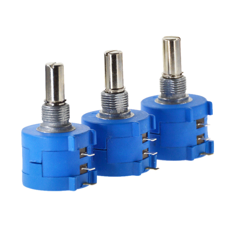 Free Shipping <font><b>3590S</b></font>-<font><b>2</b></font>-<font><b>103L</b></font> <font><b>3590S</b></font> 10K ohm Precision Multiturn Potentiometer 10 Ring Adjustable Resistor image