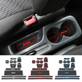 Rubber Door Groove Mat Door Mats Pads Gate Slot Cushion Cup Mat for Suzuki Jimny 3 Color