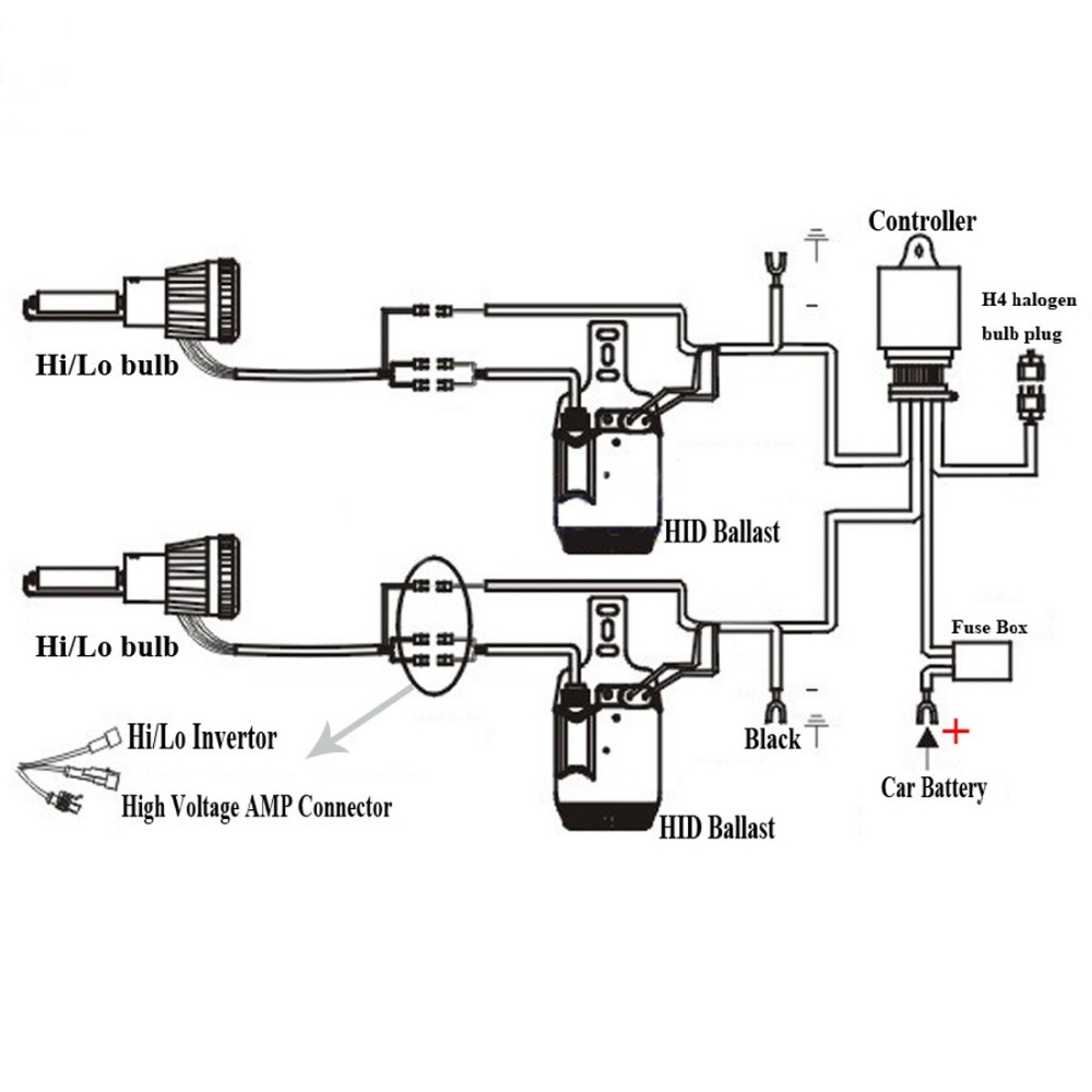 9007 hid wiring diagram