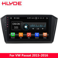 KLYDE 10.1 IPS 4G WIFI Octa Core Android 8 4GB RAM 32GB ROM Car DVD Multimedia Player Stereo For Volkswagen VW Passat 2015 2016