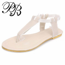 huge measurement 34-43 2016 new scholar flat ladies's sandals flip flops ladies sandals women spring summer time sneakers lady finest #Y0561505F
