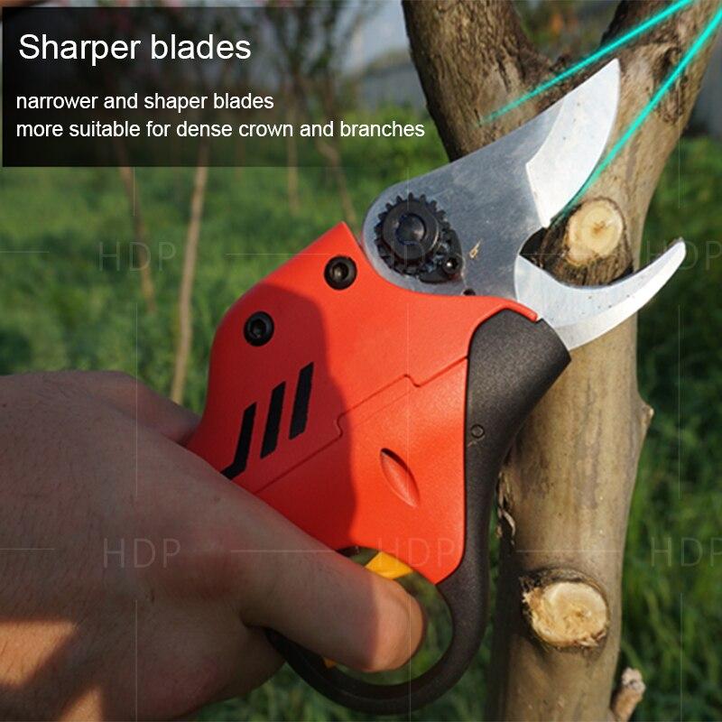 forbici elettriche da potatura per frutteto e giardino (lama - Attrezzi da giardinaggio - Fotografia 3