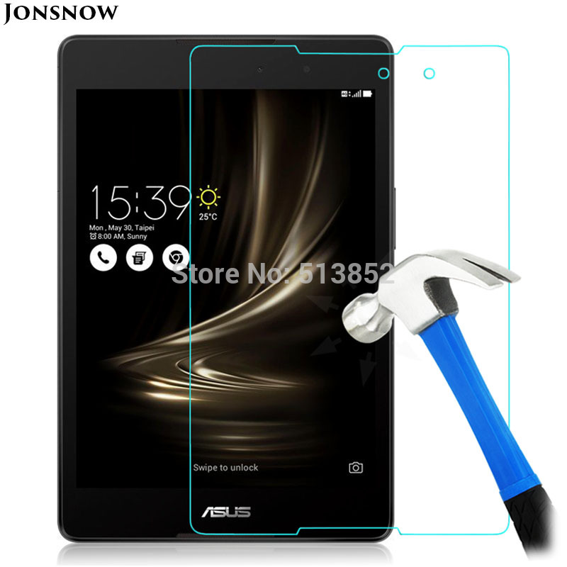 JONSNOW Tempered Glass Film For Asus Zenpad 3 8.0 Z581KL /Z8 ZT581KL Z8S ZT582KL Tablet PC LCD Explosion-Proof Screen Protector