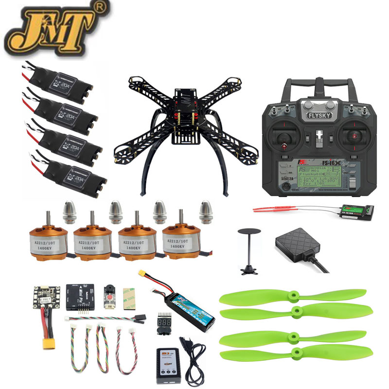 JMT DIY Mini 310 Full Set FPV Helicopter 2 4G 10CH RC 4 Axis Drone Radiolink