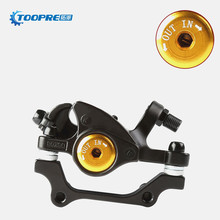 Promo offer Aluminum Alloy Front Rear Disc Brake Bicycle Brake Outdoor Mountain Road Bike Brake Bicicleta Mechanical Caliper