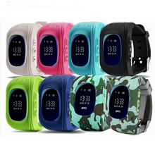 Smart Watch GPS Children Kids Wristwatch With SOS Anti-Lost Smartwatch SIM Micro Card Kids Watches Phone PK Q90 Q750 Q100