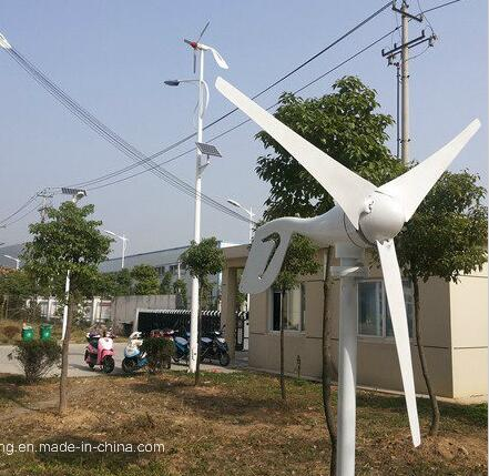 China factory direct selling small 100w 200w 300w 400w 12v 24v wind turbine generator with hybrid controller