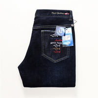 Men S Jeans Straight Famous Jeans Straight Pants High Quality Denim Stretch Midweight Low American Billionaire