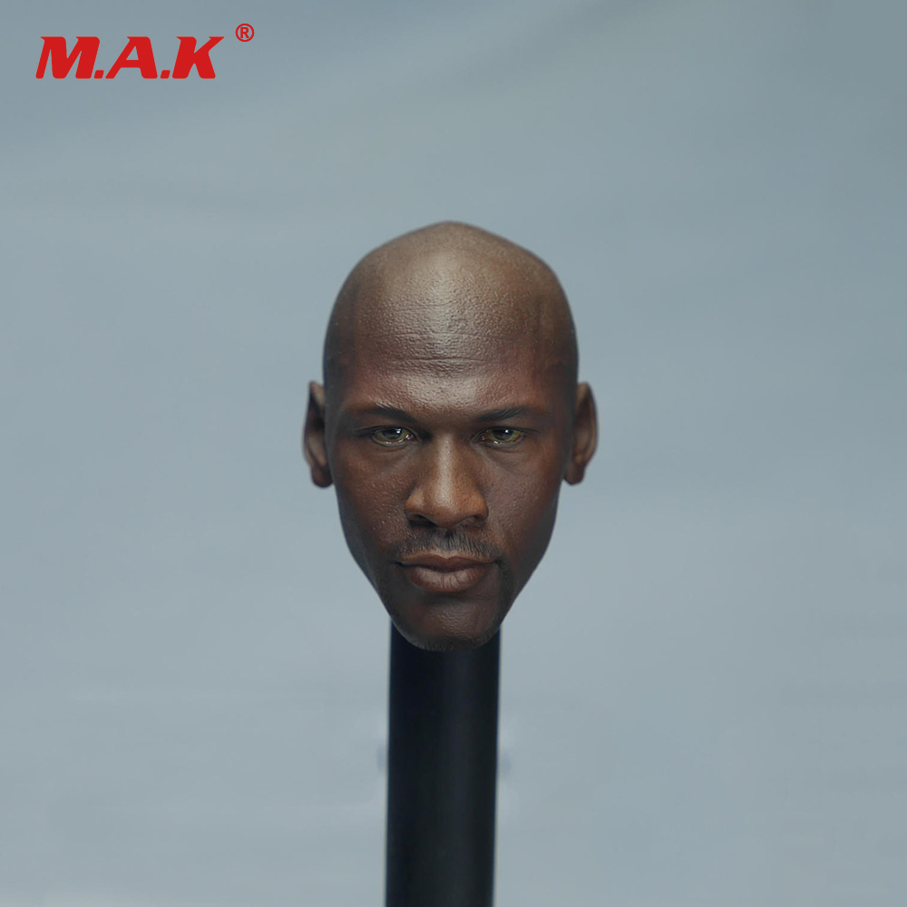 1/6 Basketball Star Male Head Sculpt Michael with Beard 45 Special Edition for 12 inches Male Action Figure Body zenfone 2 deluxe special edition