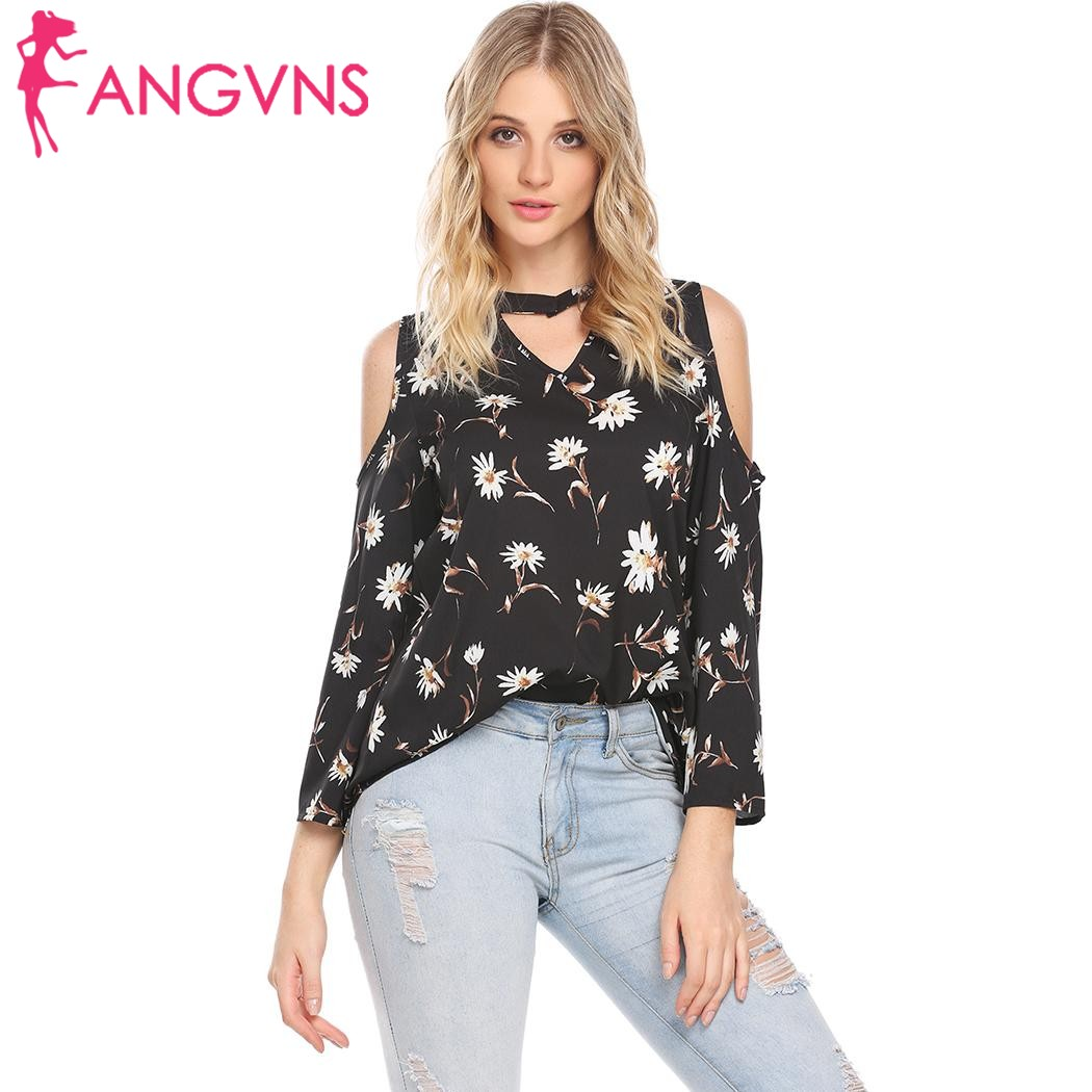 Women's Clothing Spring Summer Ladies New Sweet Hollow Out Flower Blouse Casual Lace Patchwork Tops Long Sleeve Chiffon Shirts Tops Durable Service