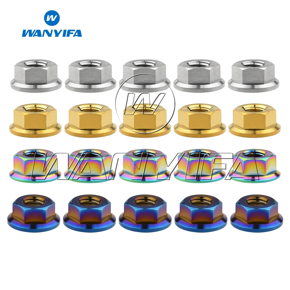 """X New Flanged BMX MTB ROAD BICYCLE Axle Nuts 3//8/"""" X 26T Chrome 10 TEN"""