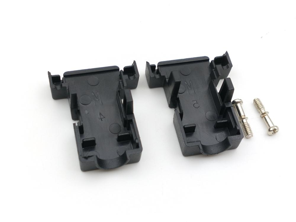 Image 5 - 100 piezas DB9 D Sub cubierta hood de 9 pin 15 pin-in Conectores from Luces e iluminación on AliExpress