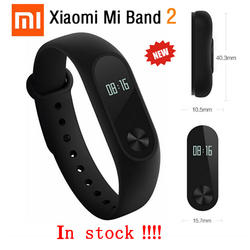 Original Xiaomi Mi band 2 Heart Rate Smart Wristband Xiaomi MiBand 2 Bracelet With OLED Display Touchpad For iPhone 7 Mi band