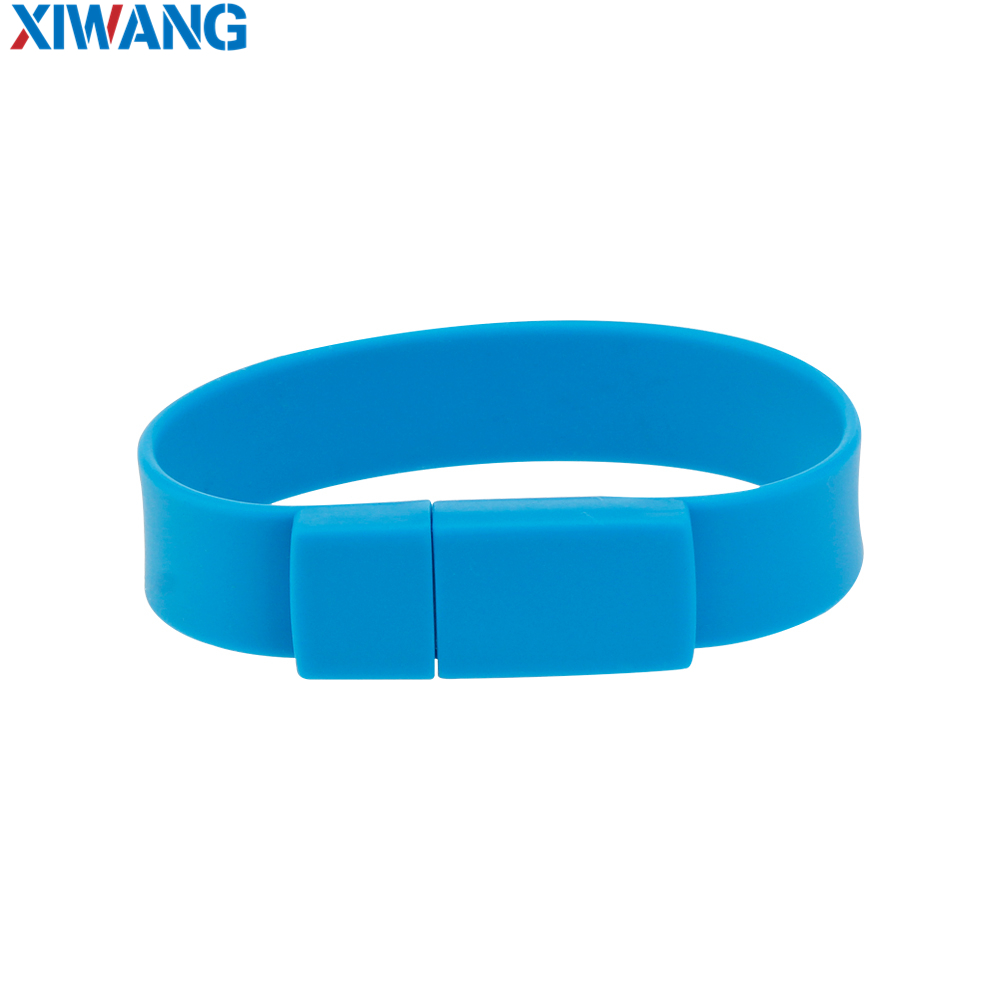 Image 4 - New Creative Silicone bracelet Wrist Band usb flash drive 128GB 64GB 32GB 16GB 8GB Pen drive Pendrive usb stick free shipping-in USB Flash Drives from Computer & Office
