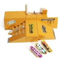 New Arrival Skate Park Ramp Parts for Tech Deck Fingerboard Finger Board Ultimate Parks 92B for Kids Toys Finger Skateboards