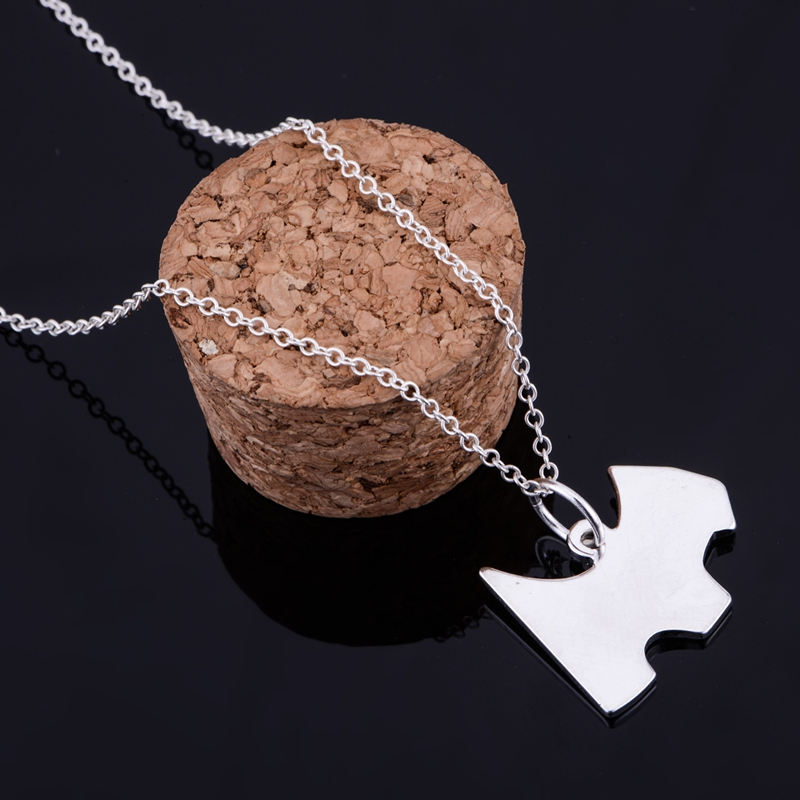 shiny light cute silver plated Necklace 925 jewelry silver Pandant Fashion Jewelry LQ-P139 UMYQOPJR