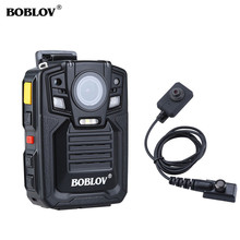цена на Boblov HD66 body camera police Full HD 1296P Worn Camera politie Pocket Video Recorder 32GB Night Vision polis polizei camara