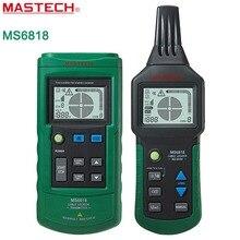 MASTECH MS6818 erweiterte draht netzwerkkabeltester-tracker multifunktions Kabel detector 12 ~ 400 V Rohr Locator Meter