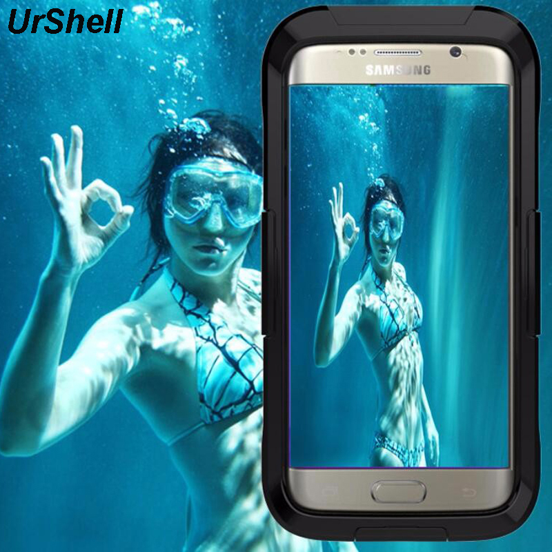 Swimming Waterproof Phone <font><b>Cases</b></font> For <font><b>Samsung</b></font> Galaxy S7 S6 <font><b>Edge</b></font> Plus Note 5 4 <font><b>Case</b></font> Diving Coque For iPhone 8 7 6 <font><b>6S</b></font> Plus 5 5S SE image