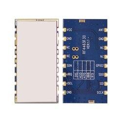4 шт./лот RF4463F30-3 на расстояние км радиочастотный модуль, 1 Вт 433 МГц 470 Si4463 чип встроенный беспроводной радиочастотный передатчик приемник мод...