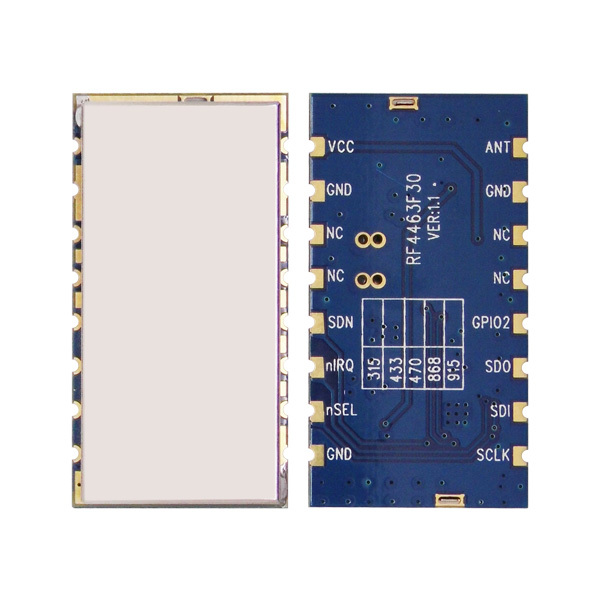 4pcs/lot RF4463F30 - 3km Long Distance RF Module, 1W 433mhz 470mhz Si4463 Chip Embedded RF Wireless Transmitter Receiver Module
