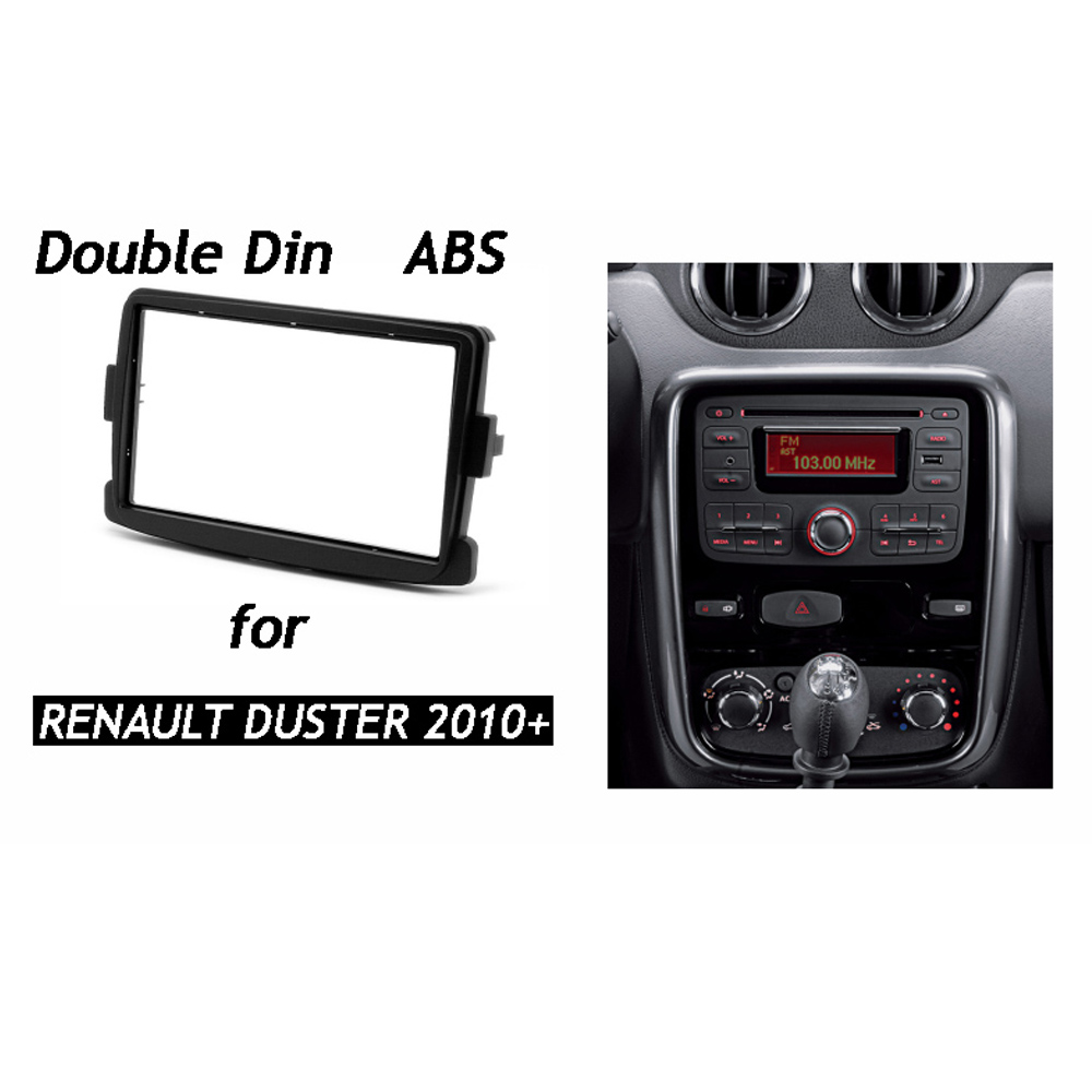 For Renault Duster Dacia Double Din Fascia Stereo Dash Kit Radio Panel Wiring Car Fitting Installation Frame In Fascias From Automobiles Motorcycles On
