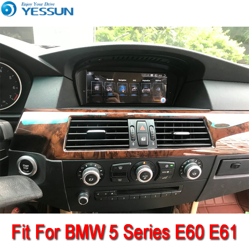 YESSUN For BMW E60 2003~2010 Android Car Navigation GPS HD Touch Screen Stereo Player Multimedia Audio Video Radio Navi yessun for mazda cx 5 2017 2018 android car navigation gps hd touch screen audio video radio stereo multimedia player no cd dvd