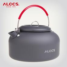 ALOCS CW K02 CW K03 חיצוני מים קומקום קומקום קפה סיר 0.8L 1.4L אלומיניום עבור פיקניק קמפינג טיולי נסיעות