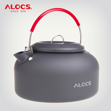 ALOCS CW K02 CW K03 Outdoor Water Kettle Teapot Coffee Pot 0.8L 1.4L Aluminum For Picnic Camping Hiking Travel