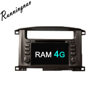 Android 8.0 Octa Core PX5/PX3 Fit Toyota Land Cruiser 100 1998 2007 Car DVD Player Navigation GPS Radio