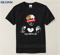 Custom T Shirts Online Gildan Premium O Neck Xxxtentacion Short Sleeve Mens Tee Shirts