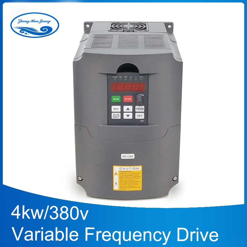 380v 4kw 1 phase input and 380v 3 phase output frequency converter/ ac motor drive/ VSD/ VFD/ 50HZ Inverter цена