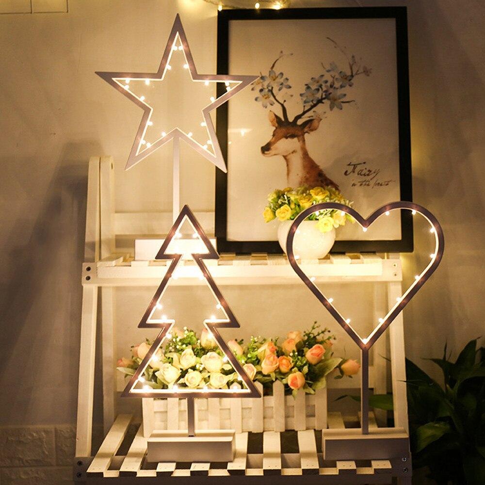 LED Night Light Decoration Table christmas decorations ...