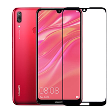 HD Tempered Glass For Huaweii Huawei Y7 2019 Screen Protector on For Hu