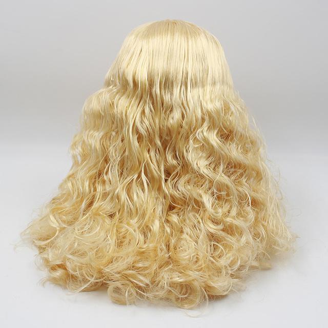 Factory Neo Blythe Doll Golden Curly Hair Regular Body 30cm