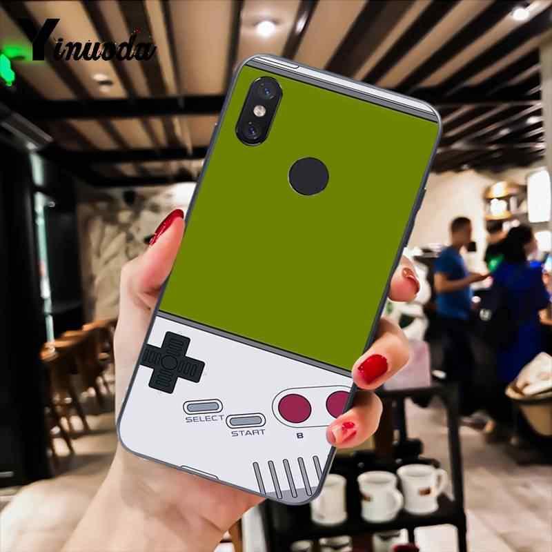 Yinuoda Retro băng nhạc trò chơi giao diện điều khiển thẩm mỹ Mới Điện Thoại Trường Hợp đối với Xiao mi mi 6 mi x2 mi x2S Note3 8 8 lite Red mi 5 note5 Note4 4X