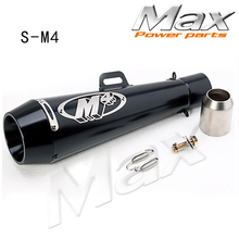 CBR300 R25 K6 zx6r 51mm motorcycle Exhaust pipe Muffler with DB-KILLER for R1 R6 ZX-6R  GSXR dirt bike
