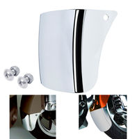 Motorcycle Front Fender Mudguard Extension For Honda Goldwing 1800 GL1800 01 17 16 Chrome ABS