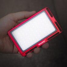 Портативный светодиодный фонарь для фотосъемки 3500-5700 K мини-камера со встроенным аккумулятором для Xiaomi Iphone huawei фотографическое освещение