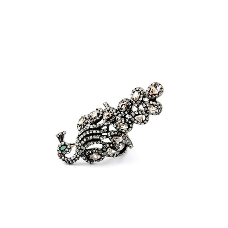 14k or jaune 6 mm Perle Blanche 3D très détaillé leaf brooch pin 1.5 X 1.25 Bijoux, montres Joaillerie