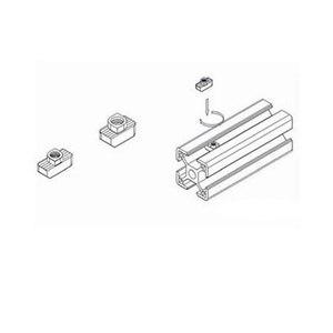 Image 5 - 50Pc M3/M4/M510 * 6 עבור 20 סדרת T אגוז חריץ T אגוז הזזה TNut פטיש זרוק באגוז להדק מחבר חוזק גבוהה קשיות