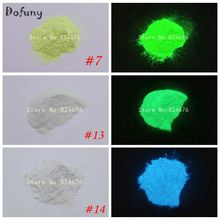 10g/bag Glowing Green Blue Light luminous powder phosphor pigment Noctilucent  Powder Glow in Dark Dust Pigment Nail glitter